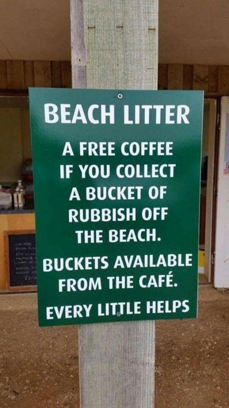 Afval opruimen