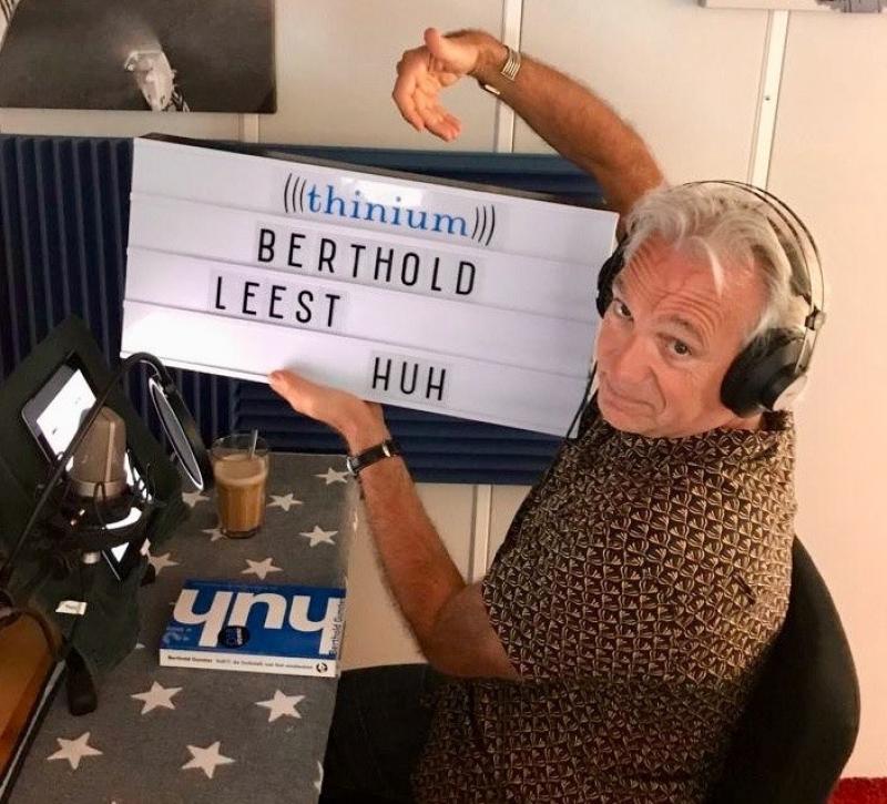 Berthold maakt luisterboek