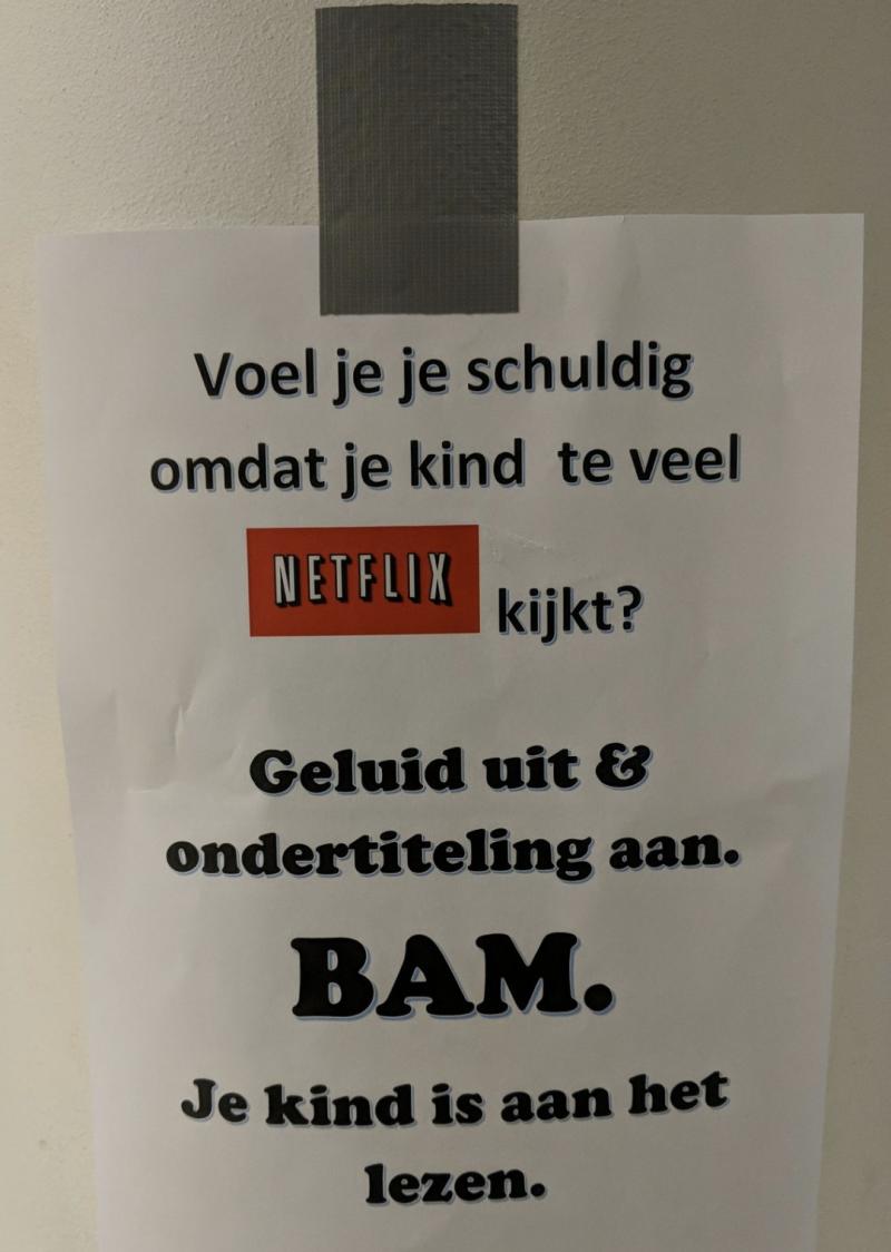 Netflixen? Lezen!
