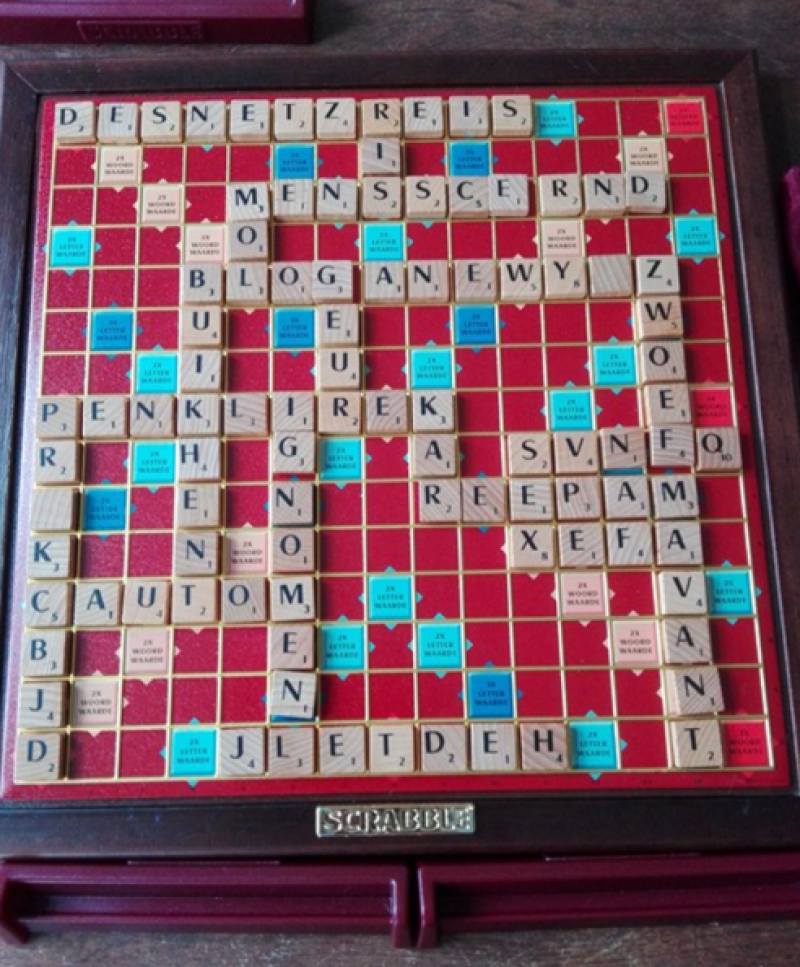 Scrabble is niet zo moeilijk...