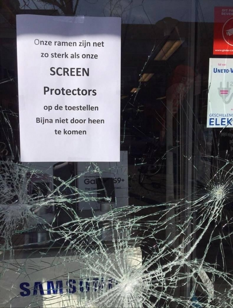 Echt supersterke screen protectors