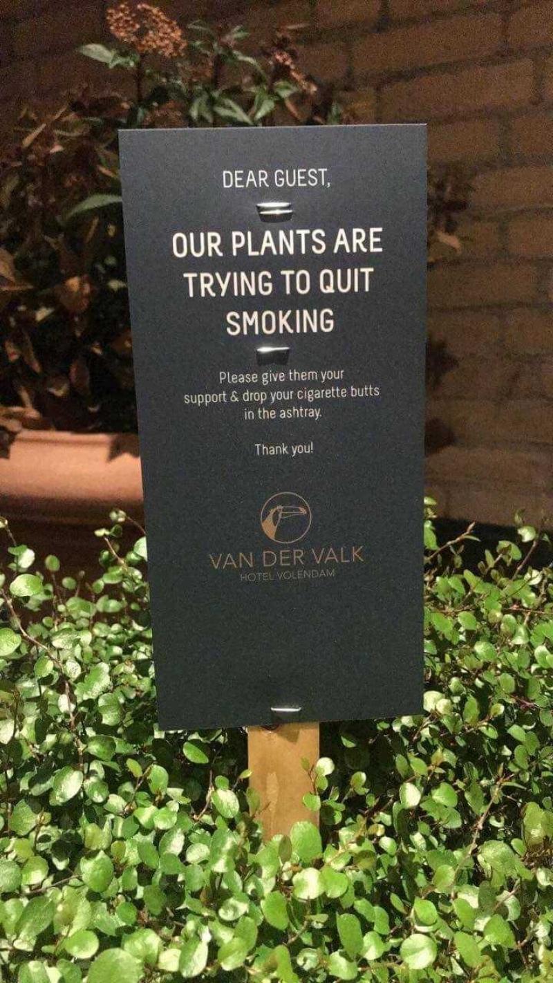 Steun onze planten