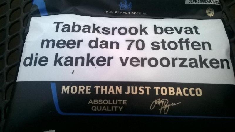 Terechte slogan...