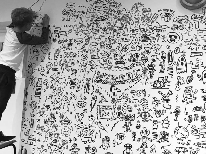 Foto: The Doodle Boy