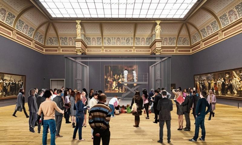 Sfeerimpressie beeld van Rijksmuseum zelf.
