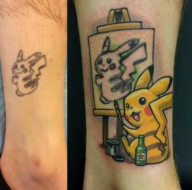 Zo repareer je een slechte tatoeage
