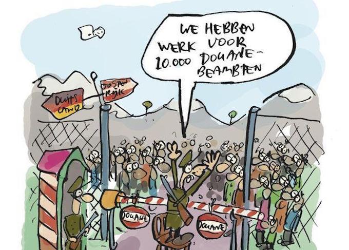 Duitsland sluit grenzen