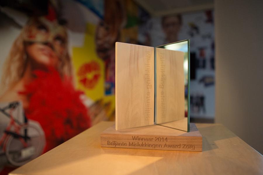Briljante Mislukkingen Award Zorg 2016