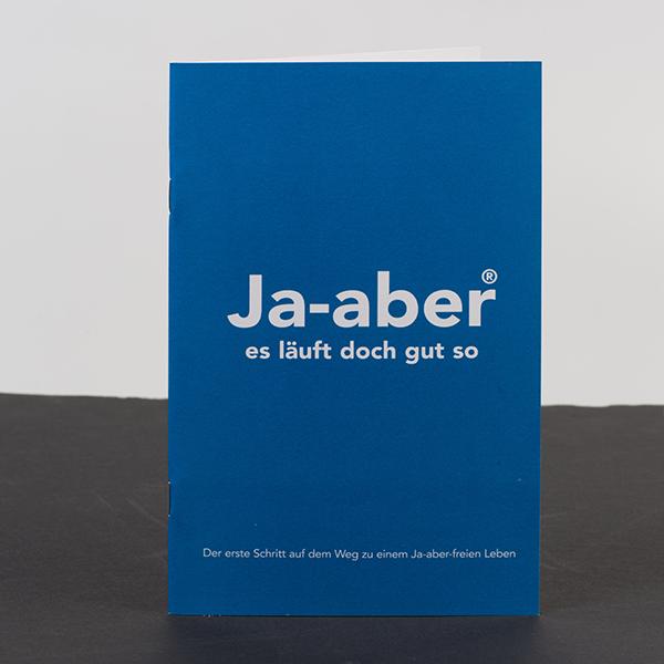Ja-aber brochures – 5 stuks