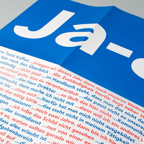 Ja-aber affiche – 5 stuks