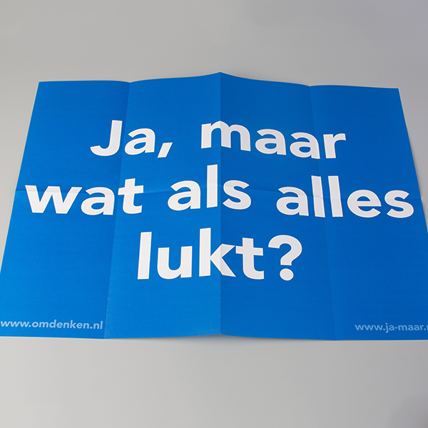Ja-maar affiche (5 stuks)