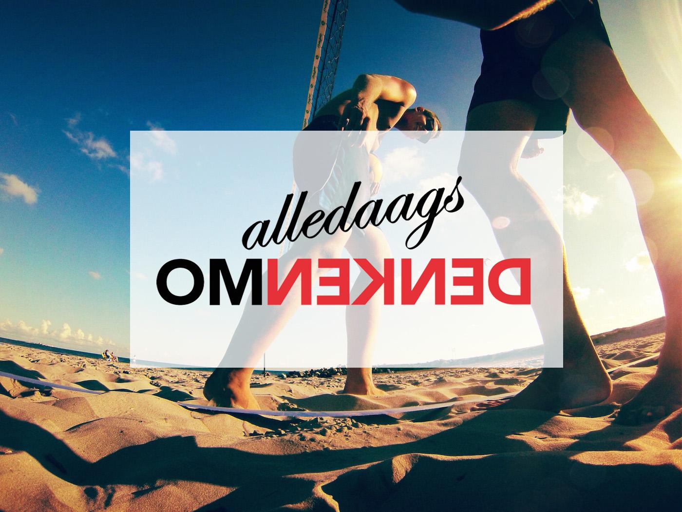 Alledaags omdenken: beachvolleybal