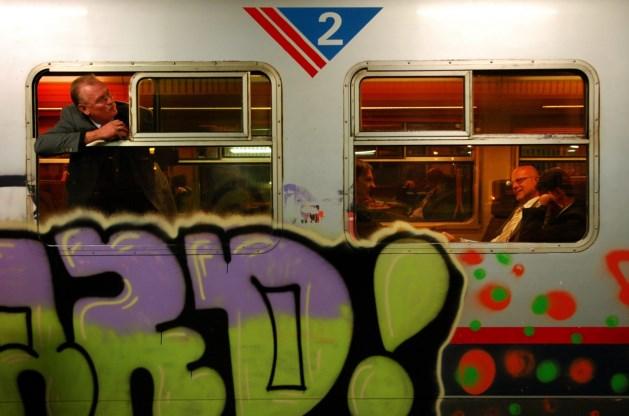 Graffiti op treinen