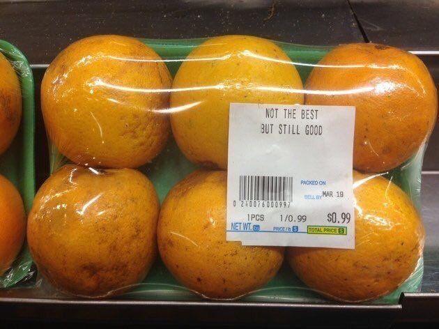 Bescheidensinaasappel
