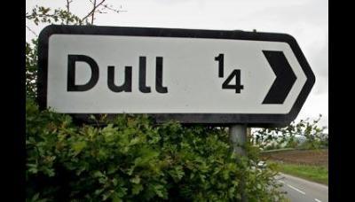Boring en Dull