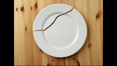 Het kapotte bord