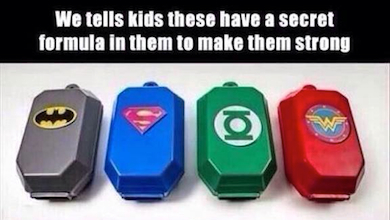 Superhelden chemo