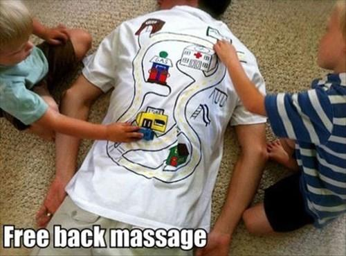 Gratis massage