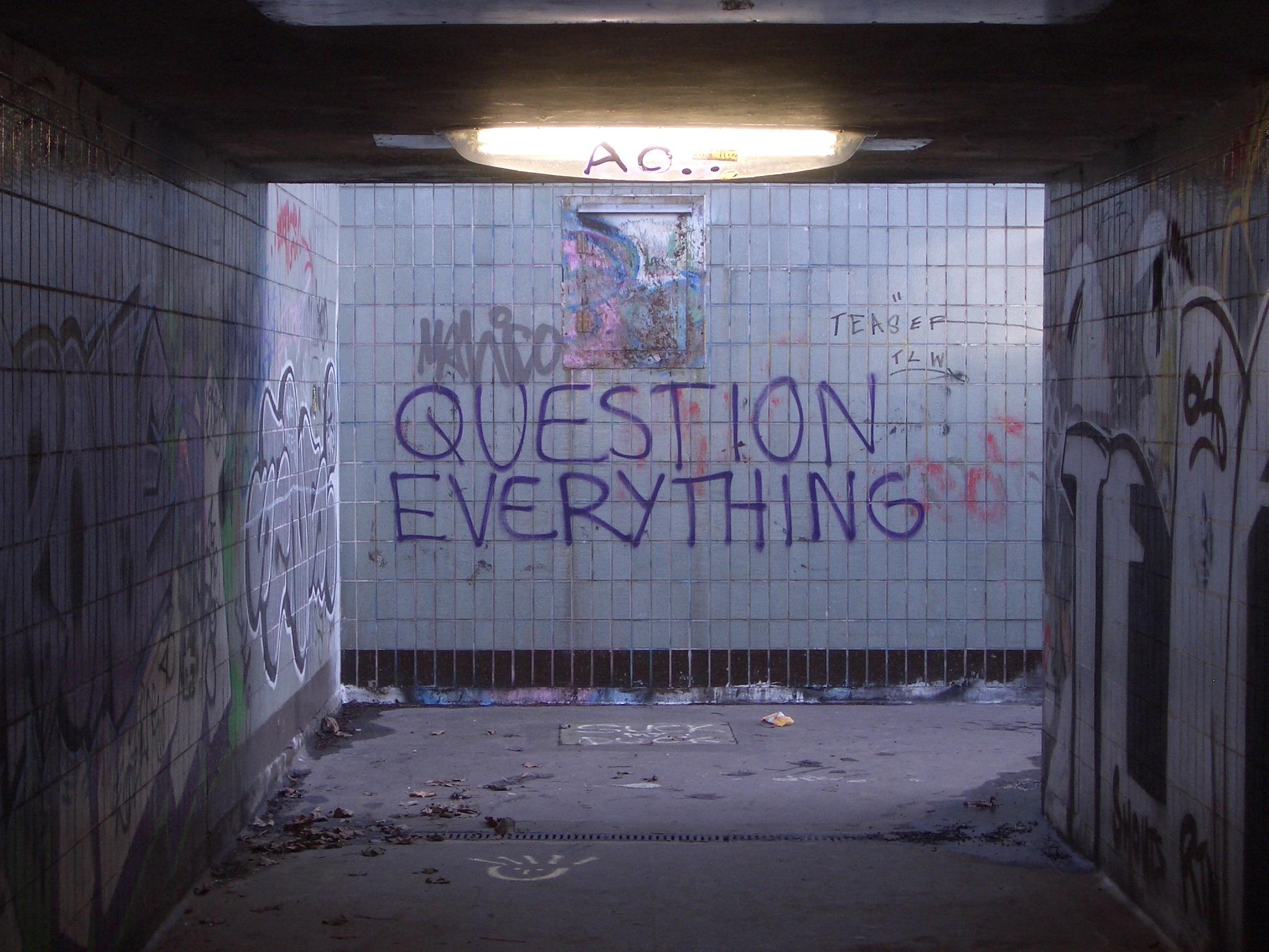 Trek alles in twijfel