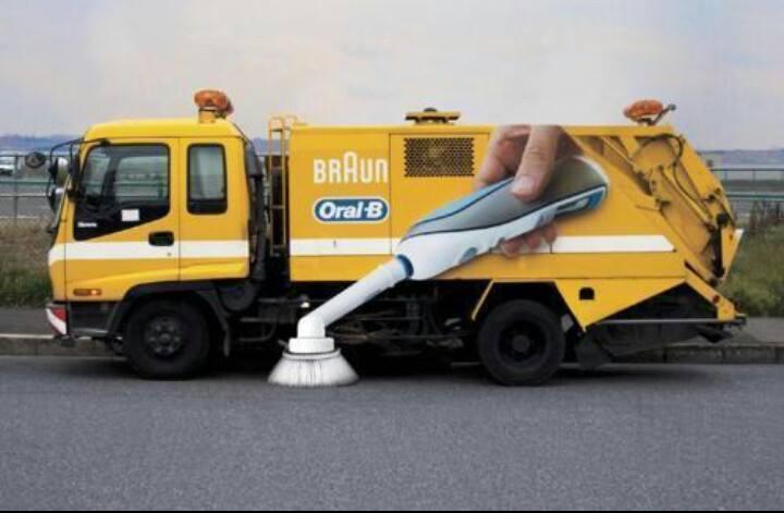 Tandenborstelwagen